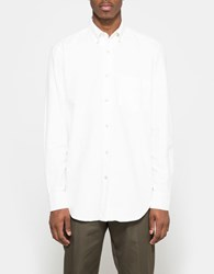 Our Legacy Original Button Down White Ultimate Flannel