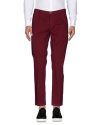 0 Zero Construction Casual Pants Maroon
