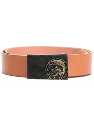 Diesel Warrior Belt Brown