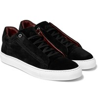 Brioni Suede Sneakers Black