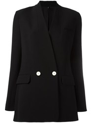 Helmut Lang No Lapel Blazer Black