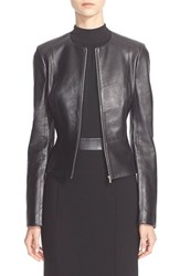 Women's Michael Kors Plonge Leather Jacket