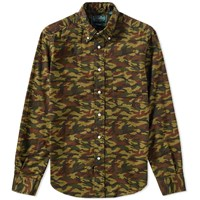 Gitman Brothers Vintage X End. Oxford Shirt Green