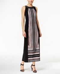 Styleandco. Style And Co. Printed Maxi Dress Only At Macy's Feminine Geo