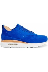Nike Air Max 1 Royal Suede And Leather Sneakers Bright Blue