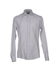 Grey Daniele Alessandrini Shirts Shirts Men
