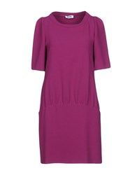Moschino Cheap And Chic Short Dresses Mauve