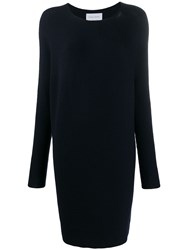 Christian Wijnants Koha Seamless Knitted Dress Blue