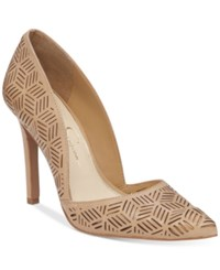 Jessica Simpson Charie D'orsay Dress Pumps Women's Shoes Sand Castle