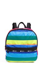 Le Sport Sac Lesportsac Janis Backpack Rainbow Stripe