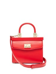 Rodo Paris Small Leather Handbag Red