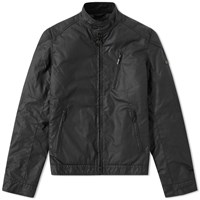Barbour International Winter Sprocket Wax Jacket Black