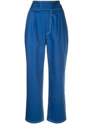 Harvey Faircloth High Waisted Tapered Trousers 60