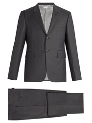Thom Browne Classic Wool Suit Grey