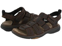 Clarks Merrimack Brown Oily Leather Men's Sandals
