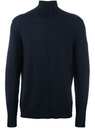 Marni Turtleneck Jumper Blue