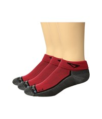 Drymax Sport Lite Trail 1 4 Crew 3 Pair Ellie Red Anthracite Black Crew Cut Socks Shoes