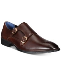 Bar Iii Men's Carrick Monk Strap With Medallion Only At Macy's Men's Shoes Brown