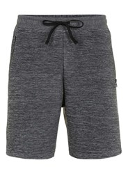 Topman Grey Ribbed Jersey Shorts
