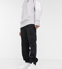 Noak X Will Harvey Nylon Cargo Trouser In Black
