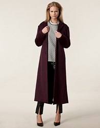 Myth Coat Nowhere Burgundy Jassen Kleding Nelly.Com