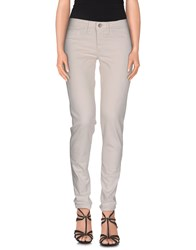 Fred Perry Denim Denim Trousers Women Ivory