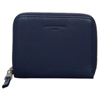 Liebeskind Conny Cocami F8 Leather Zip Around Purse Navy