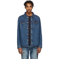 Tiger Of Sweden Jeans Blue Denim Get Jacket