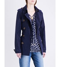 Michael Michael Kors Lightweight Shell Trench Coat True Navy