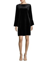 Imnyc Isaac Mizrahi Boatneck Bell Sleeve Shift Dress Merlot