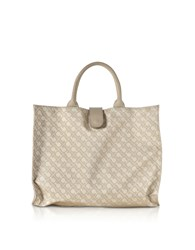 Gherardini Handbags Clay Signature Fabric Softy Foldable Shopper Bag