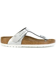 Birkenstock Gizeh Sandals Metallic