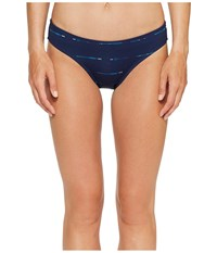 Carve Designs St. Barth Bottom Anchor Sahara Women's Swimwear Blue