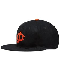 Ebbets Field Flannels Jersey City Giants Cap Black
