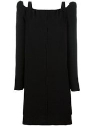 See By Chloe Cut Out Shoulder Dress Black