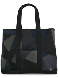Anrealage Patchwork Tote Black