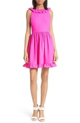 Kate Spade Women's New York Ruffle Back Minidress