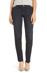 Wit And Wisdom Women's Ab Solution Straight Leg Jeans Indigo