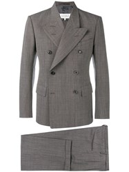 Maison Martin Margiela Double Breasted Suit Brown