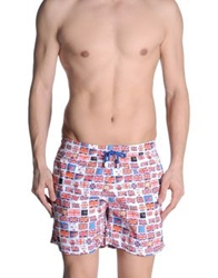 Europann Swimming Trunks Red