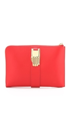 Opening Ceremony Mini Paloma Tech Clutch Tiger Red