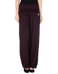 Love Sex Money Casual Pants Deep Purple