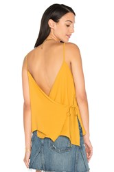 Wyldr Cross Back Tank Mustard
