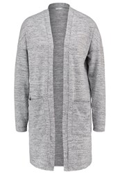 Jdyelma Cardigan Light Grey Melange Mottled Light Grey