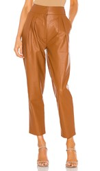 Torn By Ronny Kobo Rosa Pant In Cognac.