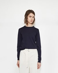 Maison Martin Margiela Elbow Patch Sweater Navy