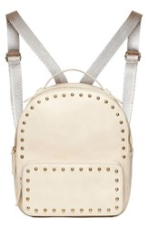 Urban Originals Star Seeker Faux Leather Backpack Grey Stone