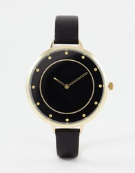 Aldo Black Gresia Watch