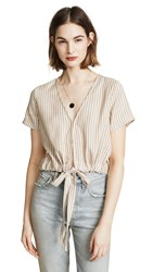 Knot Sisters Barcelona Top Straw