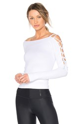 Free People Lyla Long Sleeve White